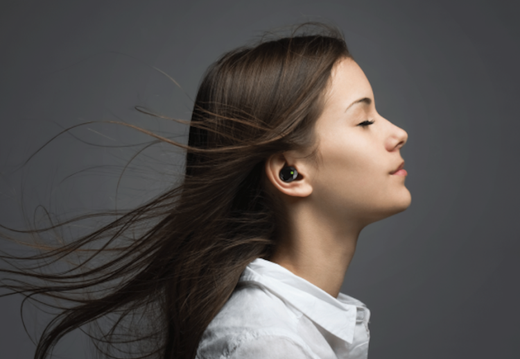 Olive hearing aid