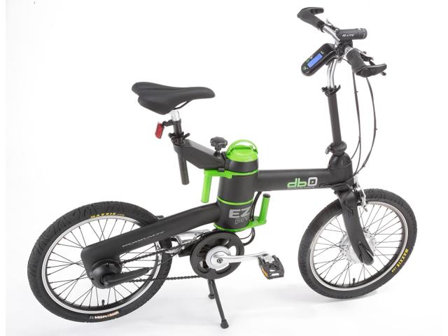 깜찍한 전기자전거, 접을 수도 있네!