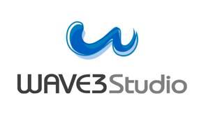 웨이브3스튜디오 로고