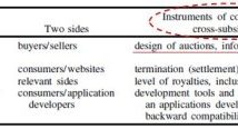 Platform Competition in two-sided market(Journal of the European Economic Association, June 2003, I(4) : 990-1029)