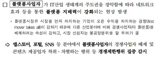 ▲공정거래위원회 대통령 보고 내용(자료=공정위)