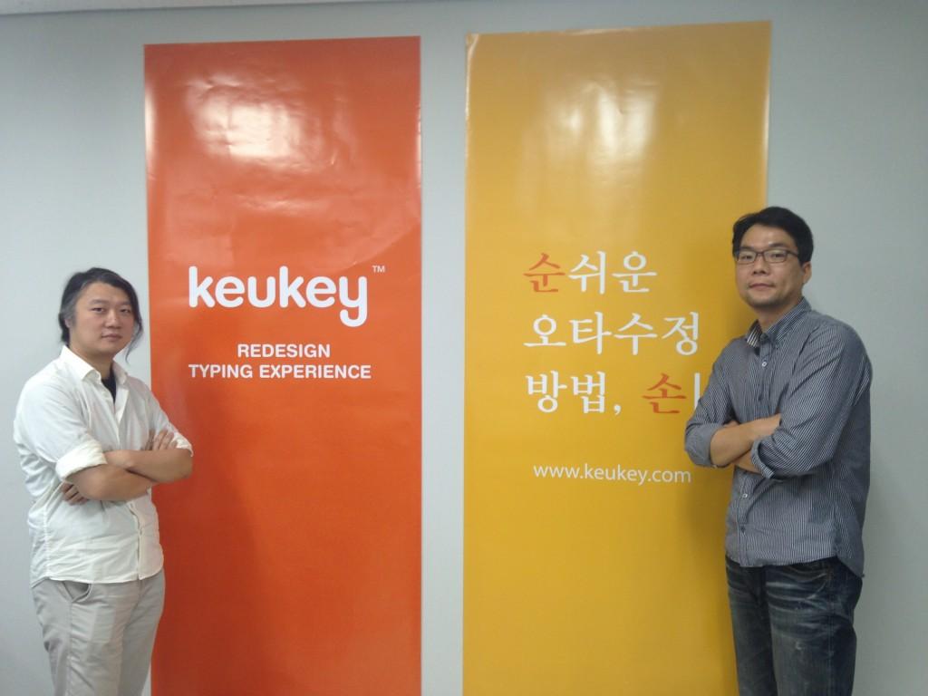 왼쪽부터 조민희 CTO, 김민철 대표
