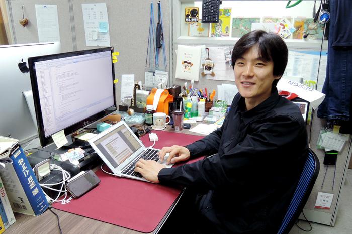 아이디어샘의 신혜성 대표(35)