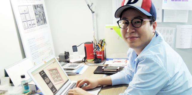 스윗해피니스(Sweet Happiness) 김민석 대표(35)