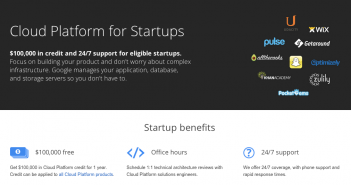 Google Cloud Platform for startups