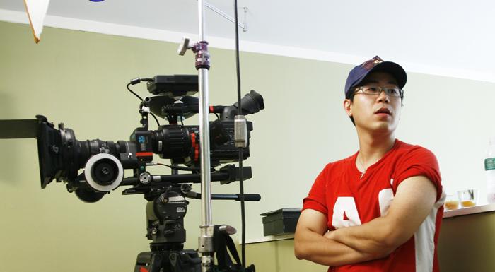 2008년 당시 미국에서 영화감독으로 활동했던 김민석 대표