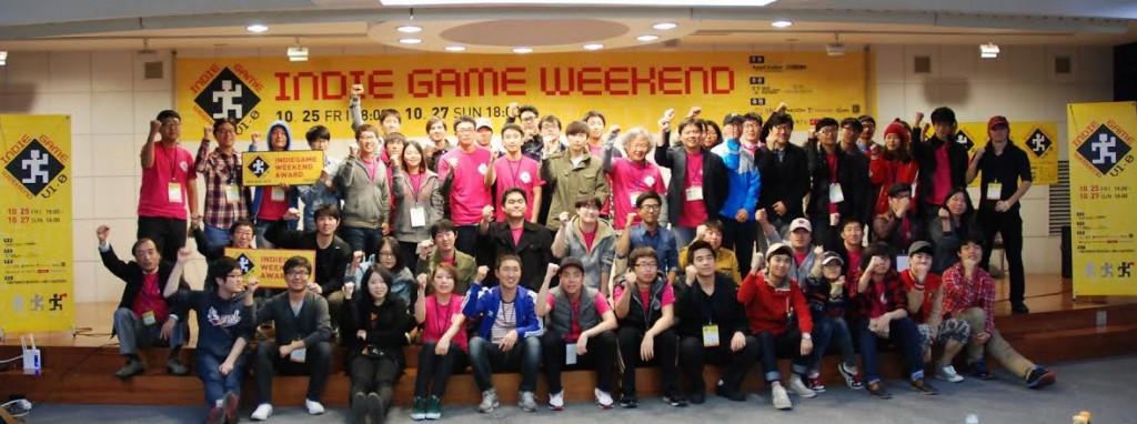 작년에 개최된 인디게임 위크엔드 2013