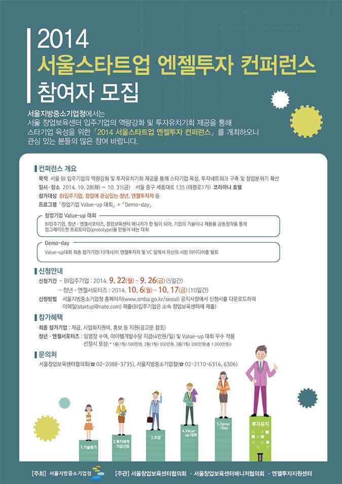 2014-엔젤투자컨퍼런스_포스터