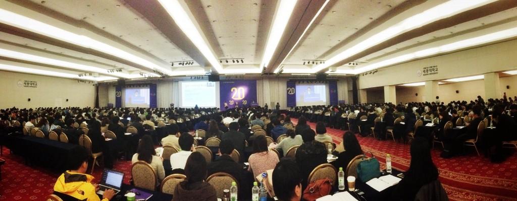 한국 웹 도입 20주년 기념 국제콘퍼런스 현장