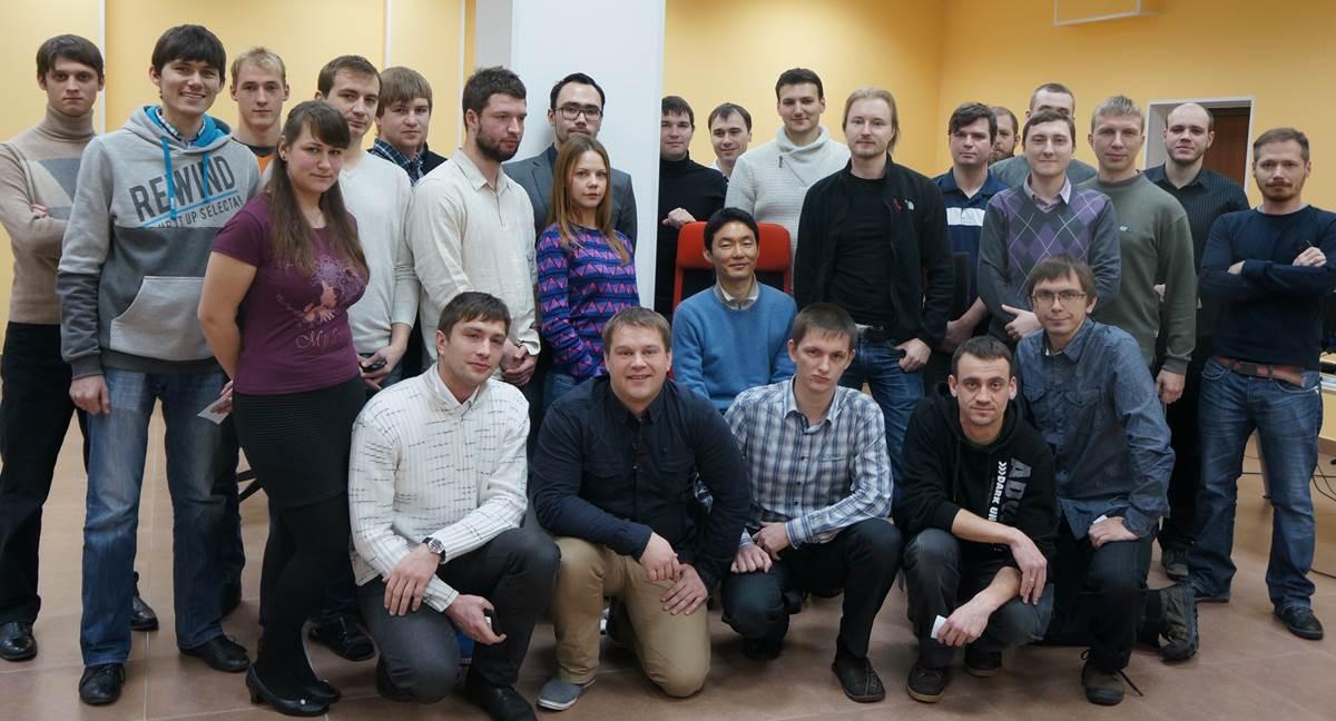 러시아지사의 팀원들