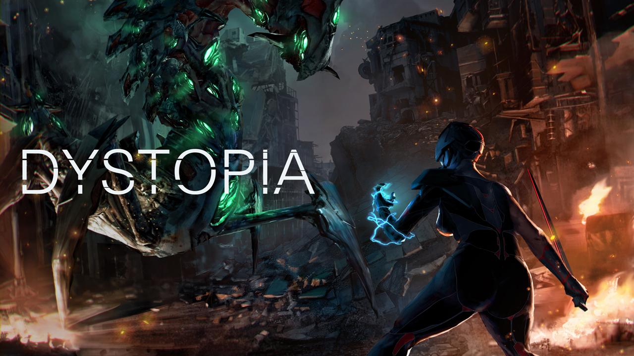 액션RPG 모바일게임 '디스토피아' 일러스트