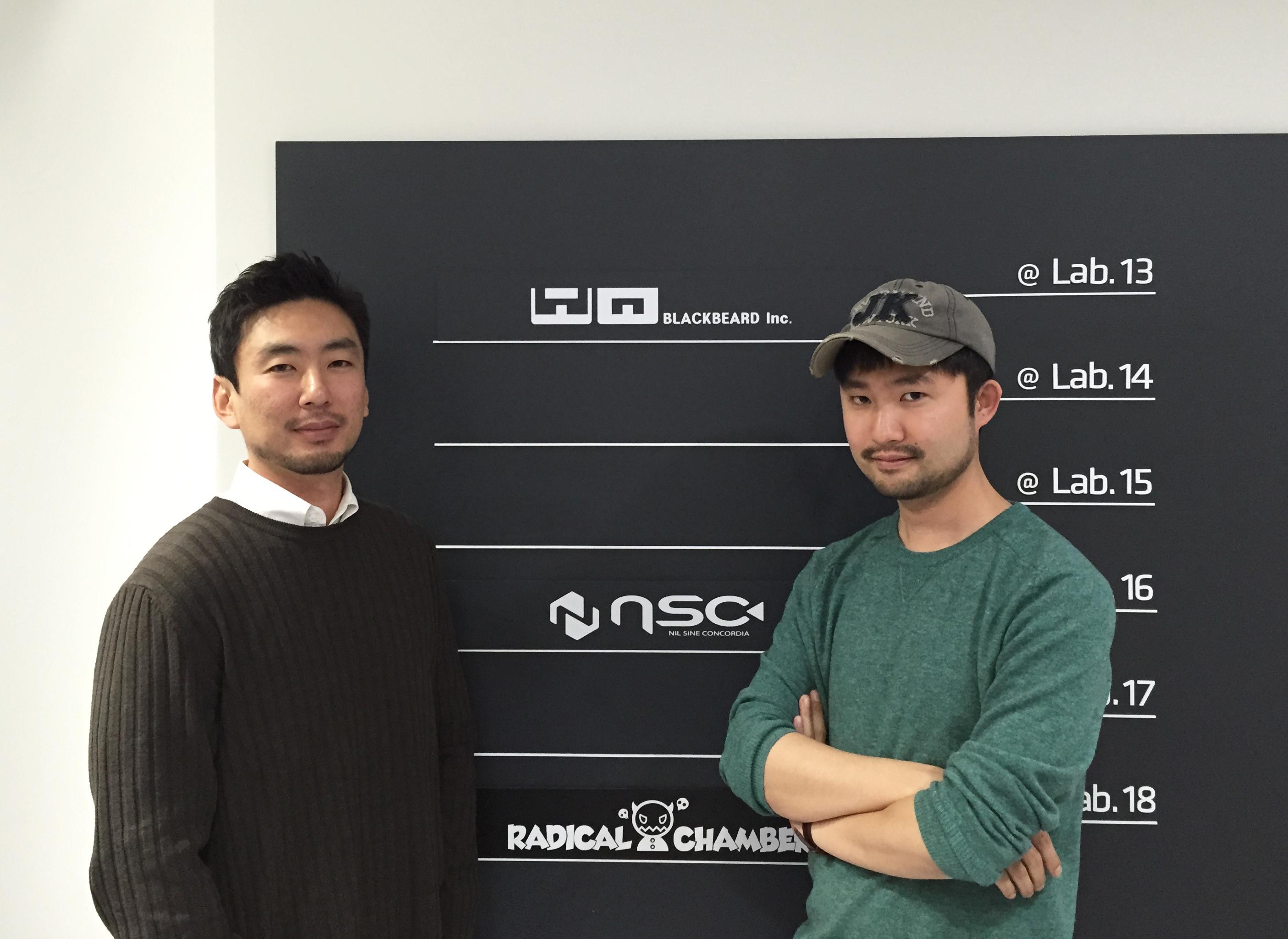 케빈백 이사(좌)와 강건우 대표(우)