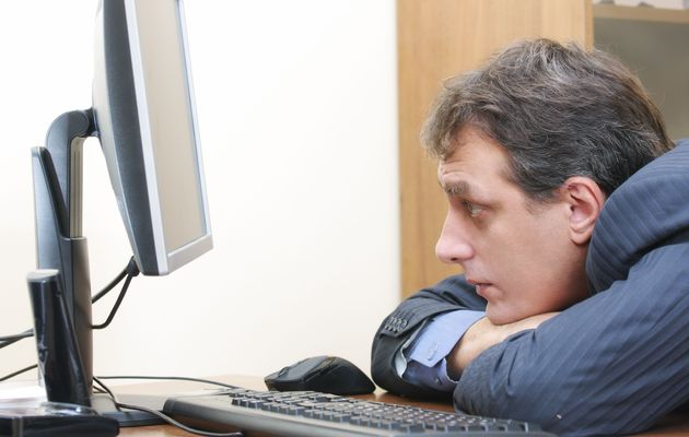 lazy+worker+computer