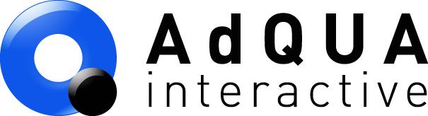애드쿠아 기업 로고 이미지