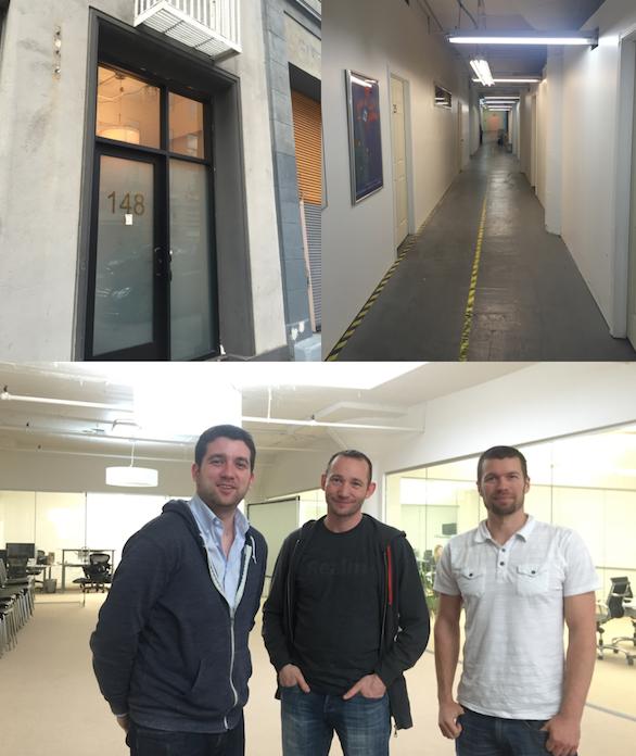 모바일데이터베이스 스타트업인 Realm.io 의 사무실. 밖에서 보면 안에 어떤 회사가 있는지도 안보이는 허름한 건물. 내부에 들어가보면 방마다 스타트업이 가득차 있다.