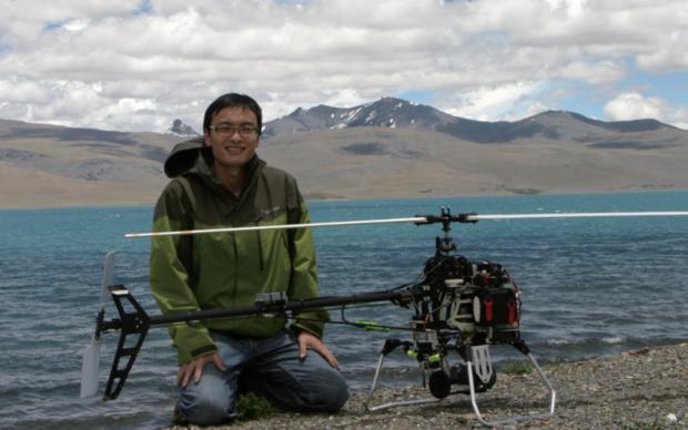 DJI 창업자 프랭크 왕. (사진 출처 DJI) RC비행기 매니아가 드론 스타트업의 창업자가 된 경우다.