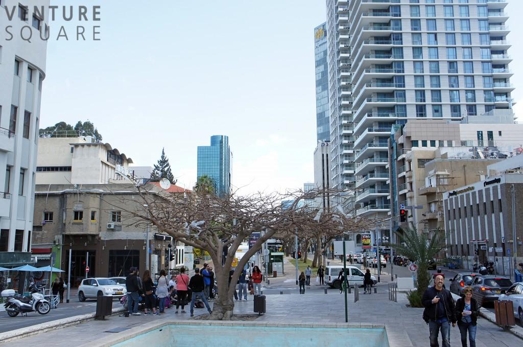 텔아비브의 스타트업 중심지인 로스차일드 거리