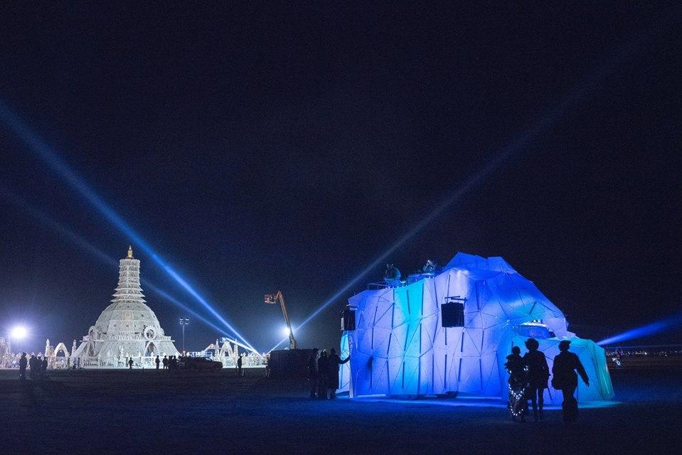 Titanic's End, Burningman 2014