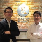 왼쪽이 기무라 마사유키 토마츠 벤처서포트 해외영업부장. 스타트업에 대한 열정으로 똘똘 뭉친 사람이다.