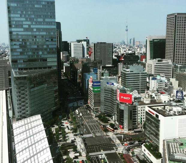 도쿄역앞.