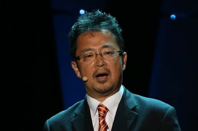 야마자키 히로시 닛케이 차장. 그는 중앙 50주년 컨퍼런스에서 디지털 전환을 위한 닛케이의 노력을 설명했다. 매우 인상적이었다.