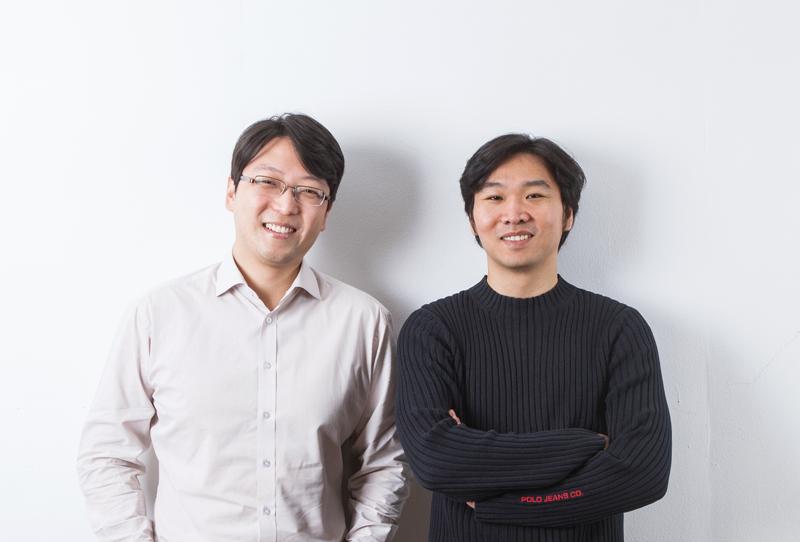(주)원모먼트 공동창업자들. 왼쪽부터 임규형 대표(32), 박건태 이사(32).