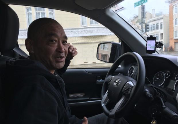 사진설명: 사람 만나는 재미로 자투리시간에 우버를 한다는 샌프란시스코 토박이.