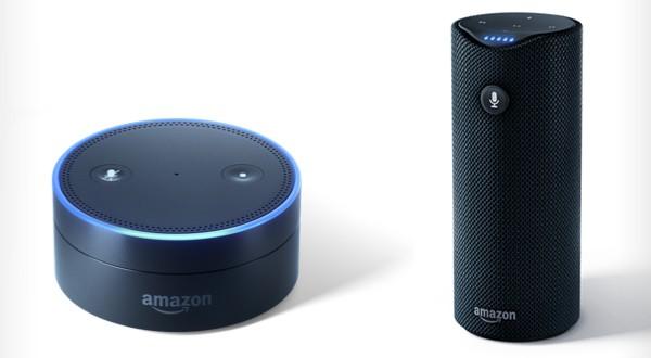 에코 닷(Echo Dot)과 에코 탭(Echo Tap), Source: Amazon