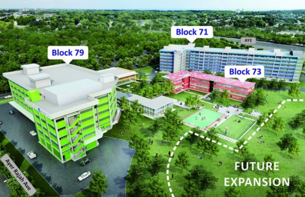 블록71 스타트업단지가 확장되고 있는 모습. 79, 73 건물은 이제 모두 오픈했고 그 옆에 휠씬 더 큰 빌딩을 건설중이다. 사진 출처 TechinAsia.