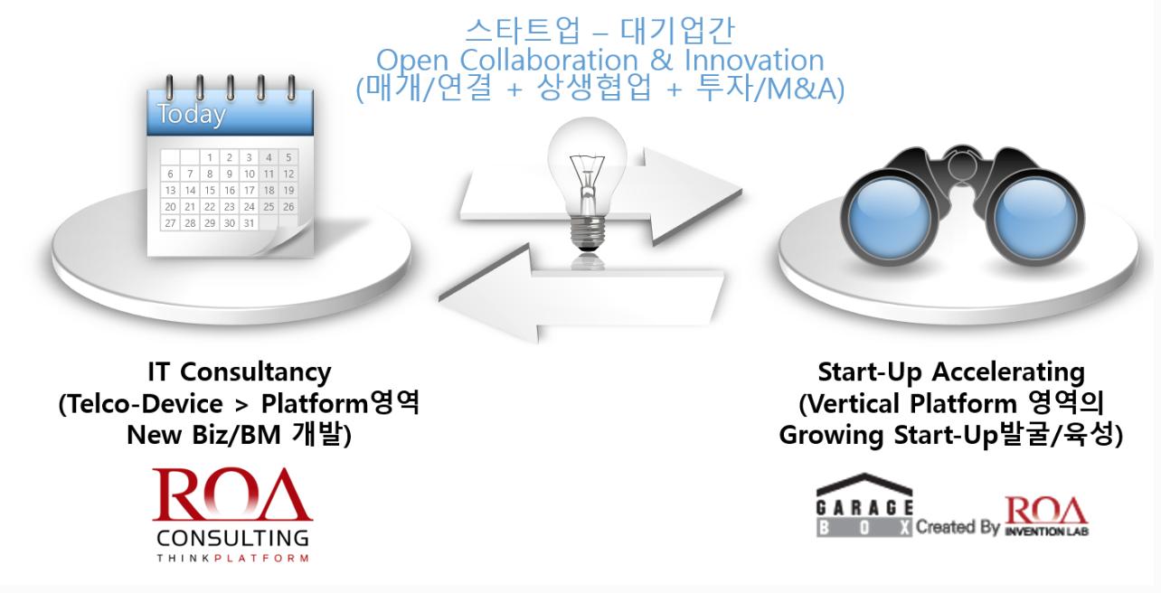 로아컨설팅(모회사)-로아인벤션랩(자회사)간 작동 매커니즘. 출처=로아컨설팅