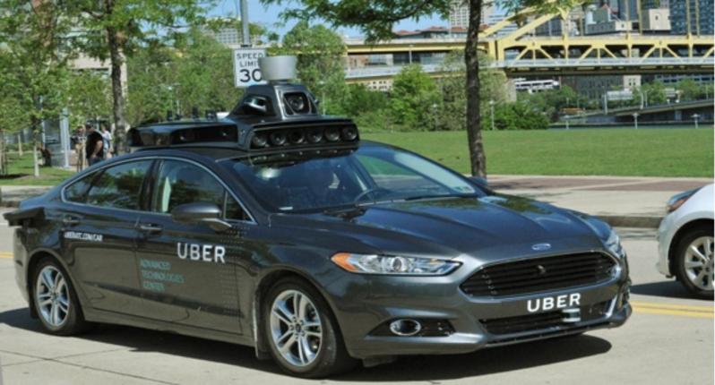Uber가 미국 피츠버그에서 막바지 테스팅 중인 첫 상용 완전 자율 주행 택시. 출처=Uber