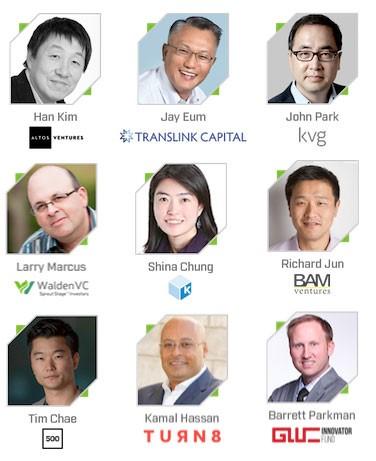 G-Startup Wolrdwide Seoul 심사위원 및 발표자