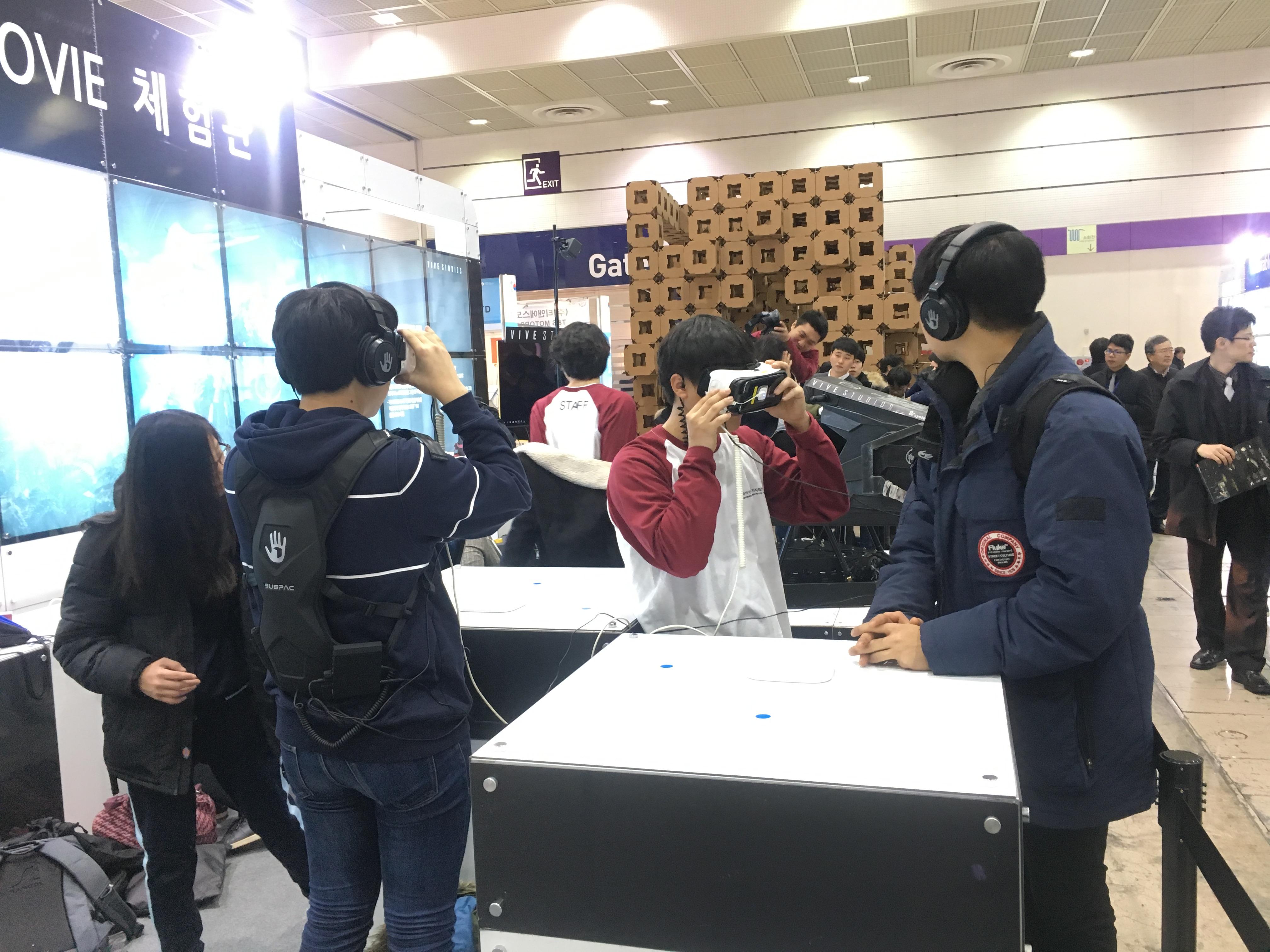 2016 외국인 발명•창업 대전 1일 체험장 전경. 출처=벤처스퀘어