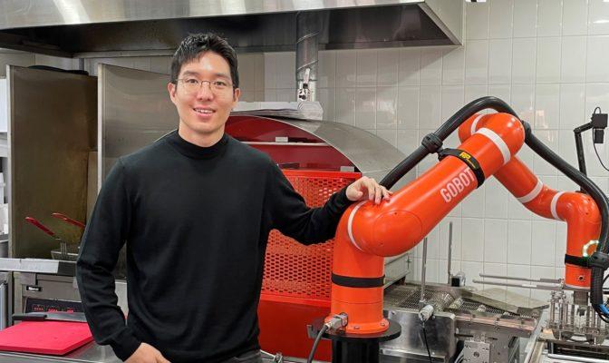 '고피자', '1인피자'를 위해 로봇을 만들다?