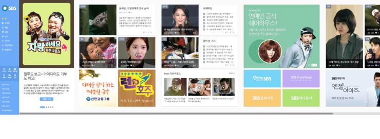 이것이 횡스크롤 페이지입니다. 제 LG 세계최초 29 인치 21:9 울트라와이드 모니터 EA93로 한 화면 가득 호출하더라도 가장 오른쪽이 보이지는 않습니다. [출처] 2014.01.14 - SBS 홈페이지 인터페이스 개편과 미래의 웹디자인|작성자 재신아빠