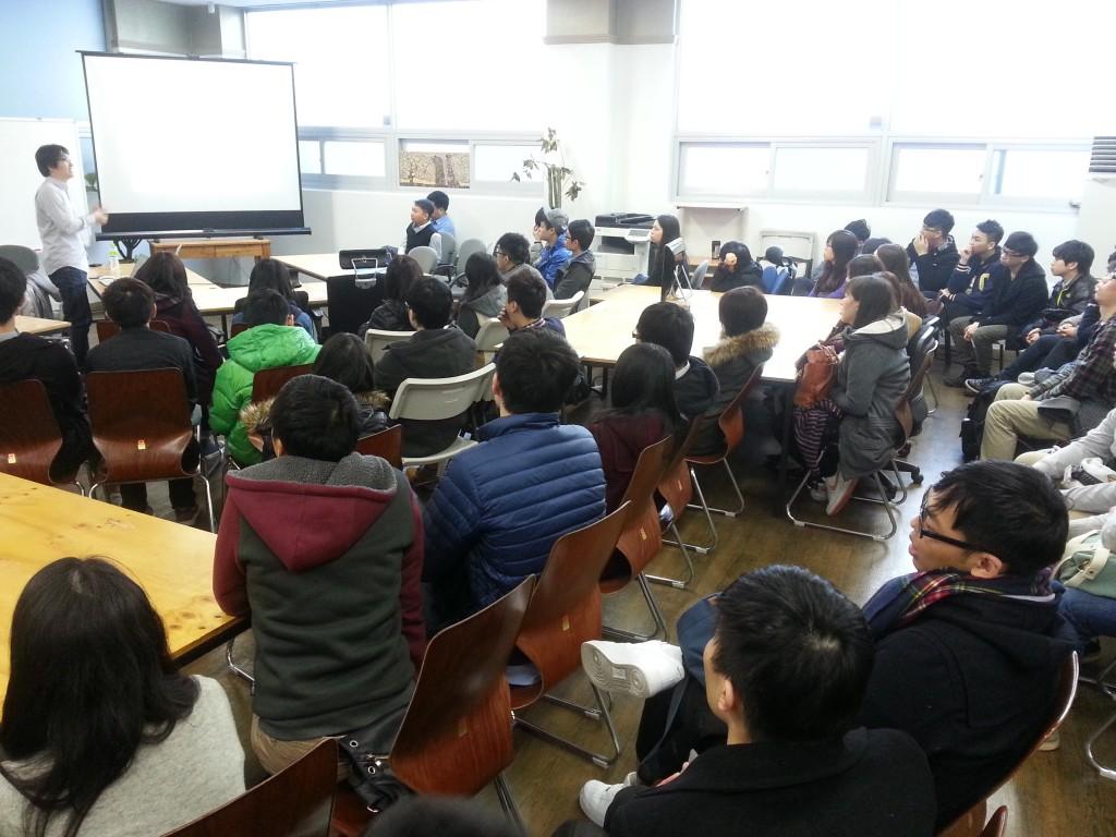 연세대를 방문한 홍콩대 학생들