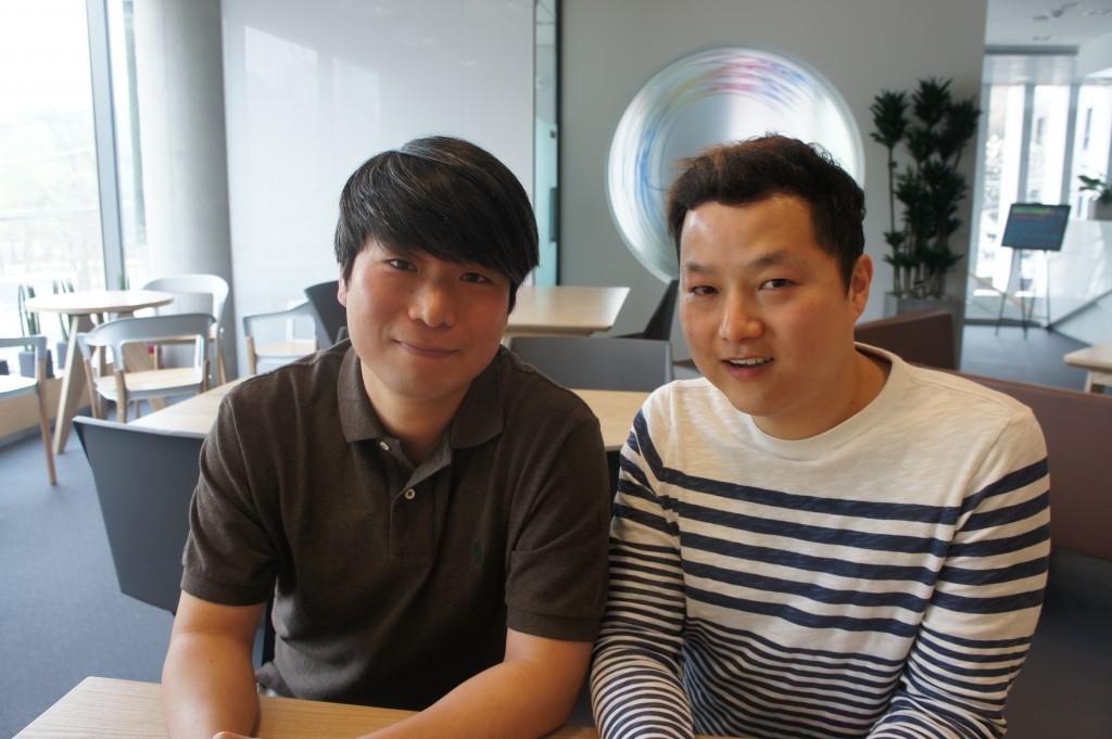 왼쪽: 꿈남 정상화 대표,  오른쪽: 꿈남 2 천영진 대표