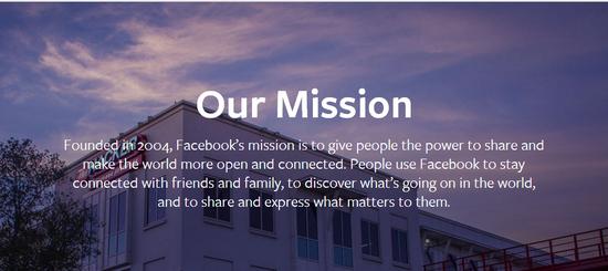 전세계 사람들을 연결시킨다는 목표를 가지고 있는 페이스북. 가상현실 세계와 SNS가 어떤 시너지를 보일지 기대된다.(사진=페이스북 홈페이지)