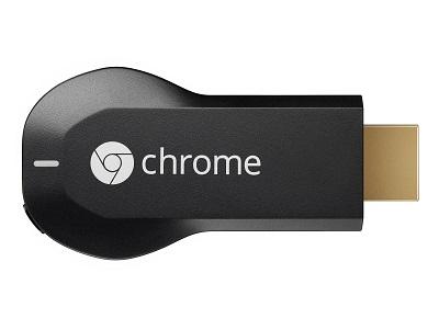 ▲ 작은 USB형태와 유사한 크롬캐스트는 한 번 꽂기만 하면 모바일로 보던 콘텐츠를 감상할 수 있는 스마트기기다. 구글코리아 제공
