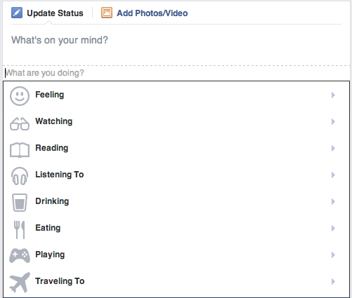 Facebook  What are you doing