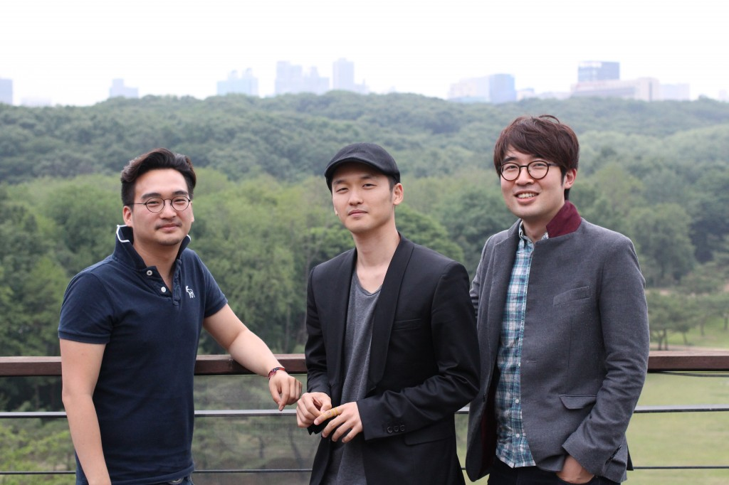 왼쪽부터 김선혁님, 최경훈님, 그리고 김정욱님. 잘생겼다고 기자는 생각한다.