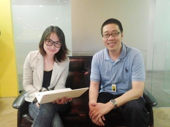 박인 집밥 대표사원(좌)과 이석영 카카오 프로덕트 매니저(우)(사진=뉴스토마토)