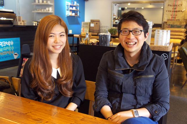 좌 : 유현경 글로벌 매니저, 우 : 이재석 대표
