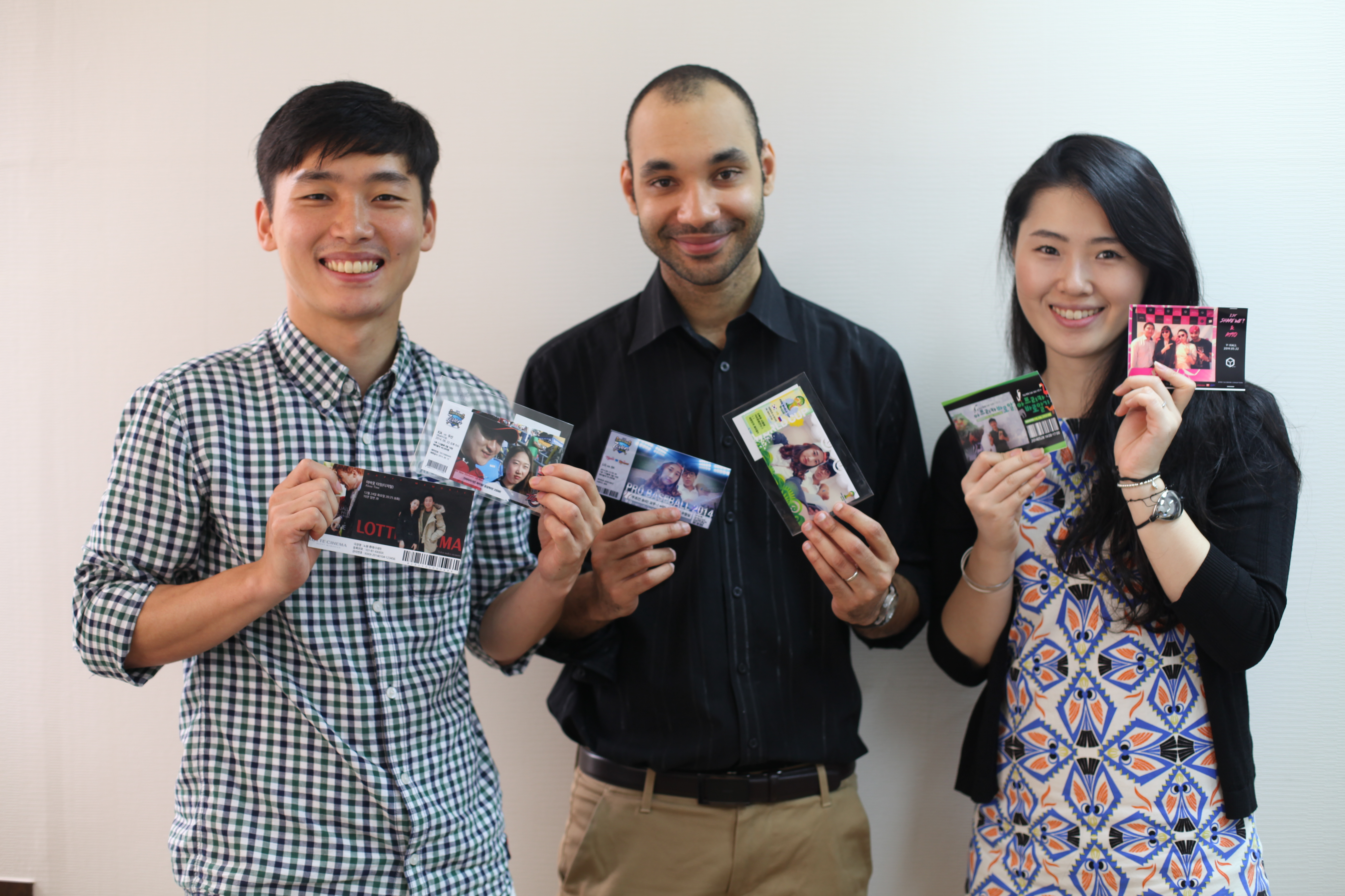 왼쪽부터 한민우 대표, 파비앙 플루호 개발자, 문지혜 매니저 (사진제공:머니투데이